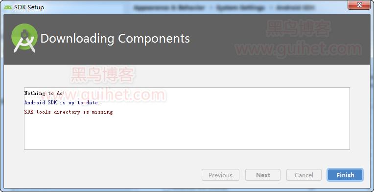 《解决 Android studio 安装过程中的 SDK tool Directory is missing 问题》